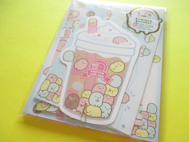 Photo1: Kawaii Cute Regular Letter Set Sumikkogurashi San-x *Tapioca  (LH67101)