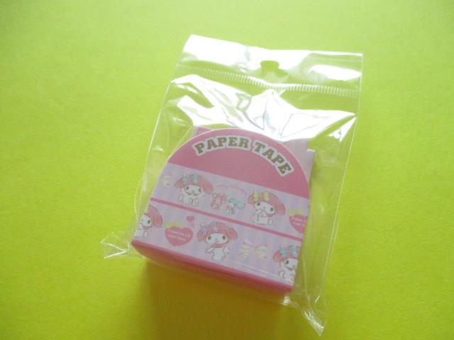 Photo1: Kawaii Cute Masking Tape/Deco Tape Sticker Sanrio Original *My Melody (16681-2)