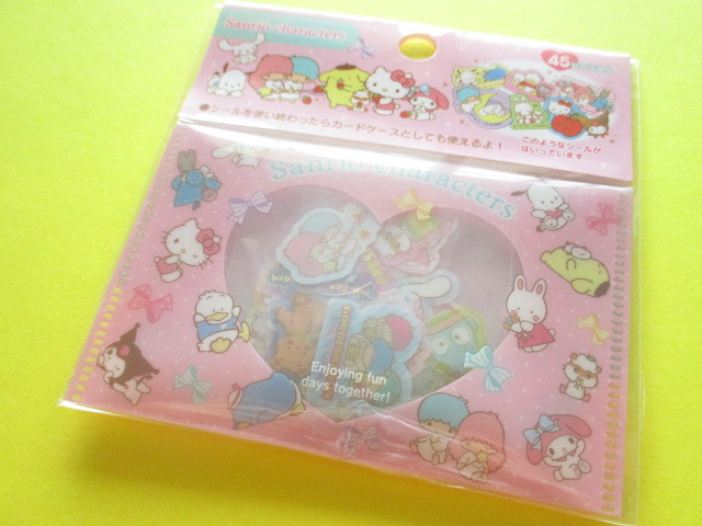 Photo1: Kawaii Cute Sticker Flakes Sack Sanrio Original *Sanrio Characters (00187-2)