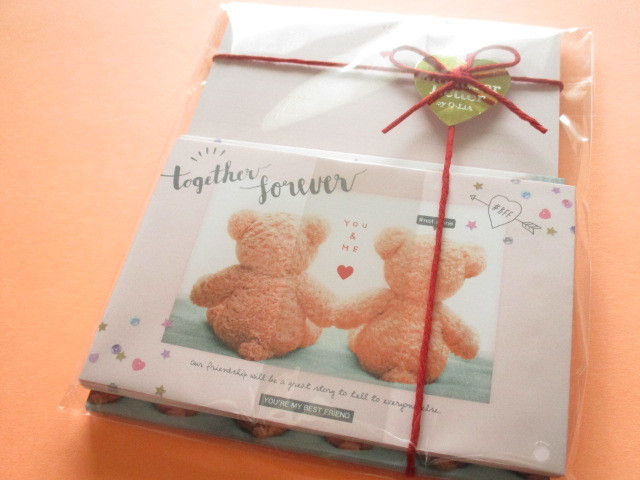 Photo1: Kawaii Cute Mon Cher Letter Set Q-LiA *Together Forever (30412)