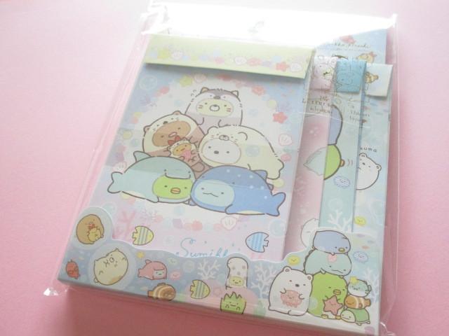 Photo1: Kawaii Cute Regular Letter Set Sumikkogurashi San-x *Sumikko & Umikko (LH66901)