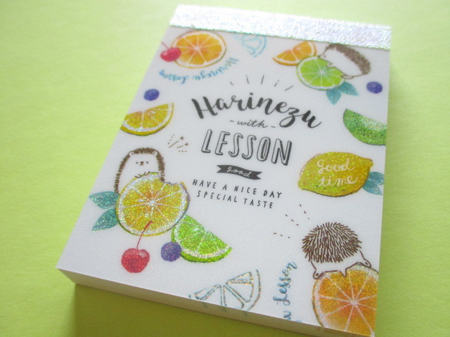 Photo1: Kawaii Cute Mini Memo Pad Q-LiA *Harinezu Lesson (34602)