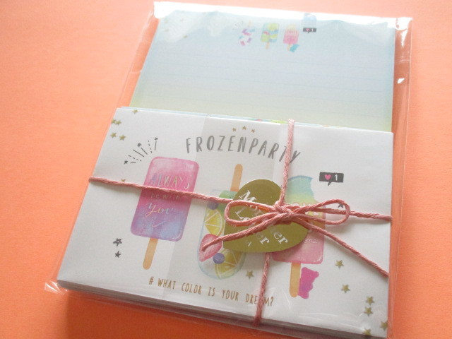 Photo1: Kawaii Cute  Mon Cher Letter Set Q-LiA *Frozen Party (30413)