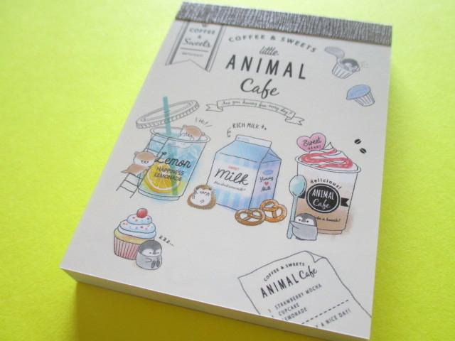 Photo1: Kawaii Cute Mini Memo Pad Q-lia  *Little Animal Cafe (30358)