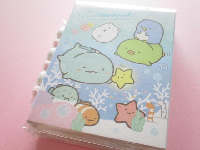 Photo1: Kawaii Cute Patapata Mini Memo Pad Set Sumikkogurashi San-x *Sumikko & Umikko (MW49501)
