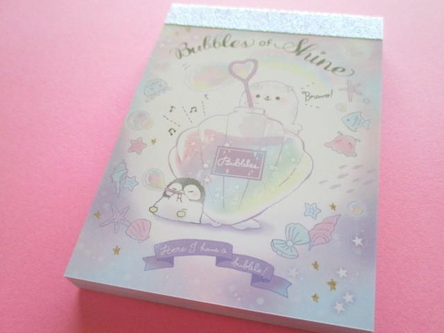 Photo1: Kawaii Cute Mini Memo Pad Q-LiA *Bubbles of Shine (30434)