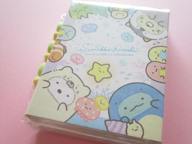 Photo1: Kawaii Cute Patapata Mini Memo Pad Set Sumikkogurashi San-x *Sumikko & Umikko (MW49601)