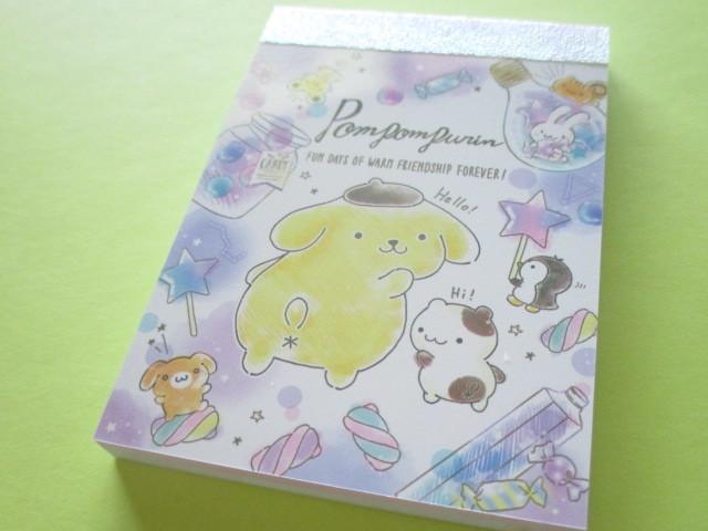 Photo1: Kawaii Cute Mini Memo Pad Sanrio *POMPOMPURIN (51433)