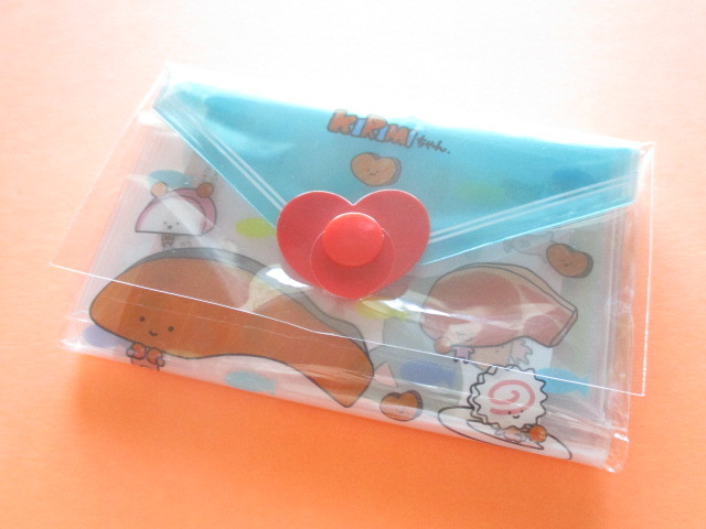 Photo1: Kawaii Cute Mini Letter Set with Plastic Case Sanrio Original *Kirimi chan (35039-7 -Ki)