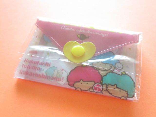 Photo1: Kawaii Cute Mini Letter Set with Plastic Case Sanrio Original *Goropikadon (35039-7 -Go)