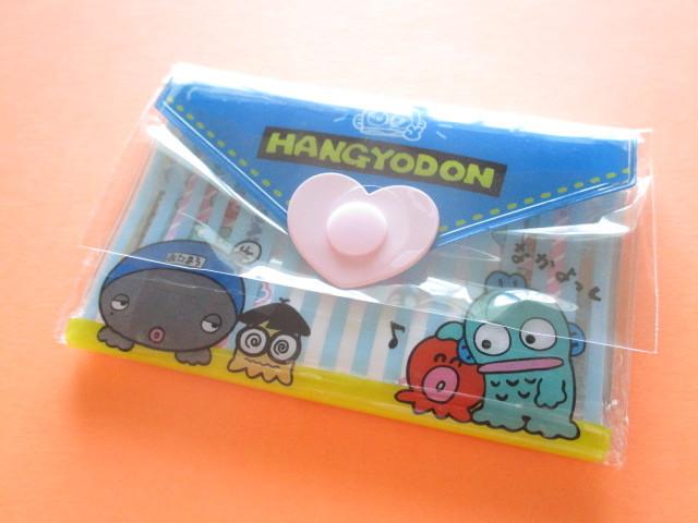 Photo1: Kawaii Cute Mini Letter Set with Plastic Case Sanrio Original *Hangyodon (35039-7 -Ha)