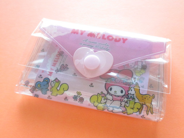 Photo1: Kawaii Cute Mini Letter Set with Plastic Case Sanrio Original *My Melody (35059-1-MM)