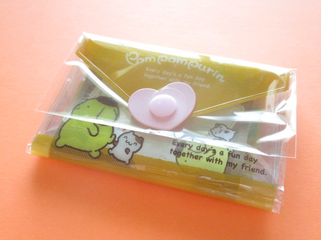 Photo1: Kawaii Cute Mini Letter Set with Plastic Case Sanrio Original *POMPOMPURIN (35059-1-Pom)