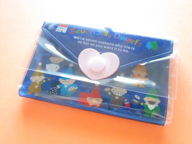 Photo1: Kawaii Cute Mini Letter Set with Plastic Case Sanrio Original *Seven Silly Dwarfs (35039-7 -SSD)