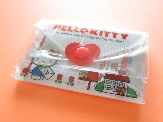 Photo1: Kawaii Cute Mini Letter Set with Plastic Case Sanrio Original *Hello Kitty (35039-7 -HK)