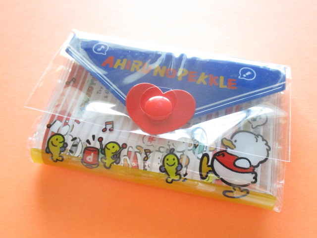 Photo1: Kawaii Cute Mini Letter Set with Plastic Case Sanrio Original *Ahiru No Pekkle (35059-1-AP)