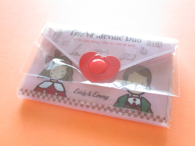 Photo1: Kawaii Cute Mini Letter Set with Plastic Case Sanrio Original *The Vaudeville Duo (35039-7 -VD)