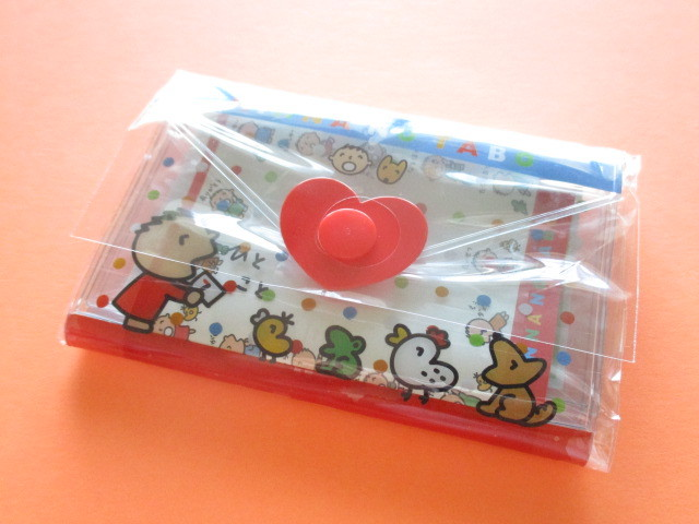 Photo1: Kawaii Cute Mini Letter Set with Plastic Case Sanrio Original *Minna no Tabo (35039-7 -MT)