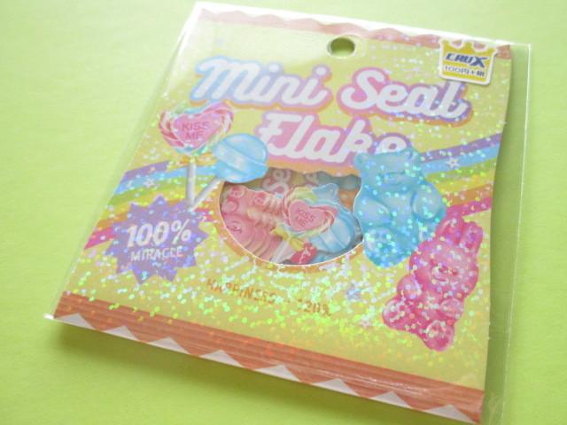 Photo1: Kawaii Cute Sticker Flakes Sack Crux *Sweets (05916)