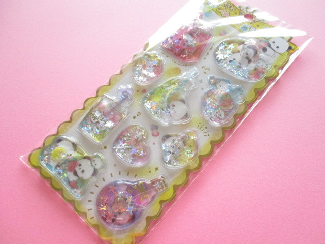 Photo1: Kawaii Cute Water in Stickers Sheet Crux *Mellow Sweetie (05921)