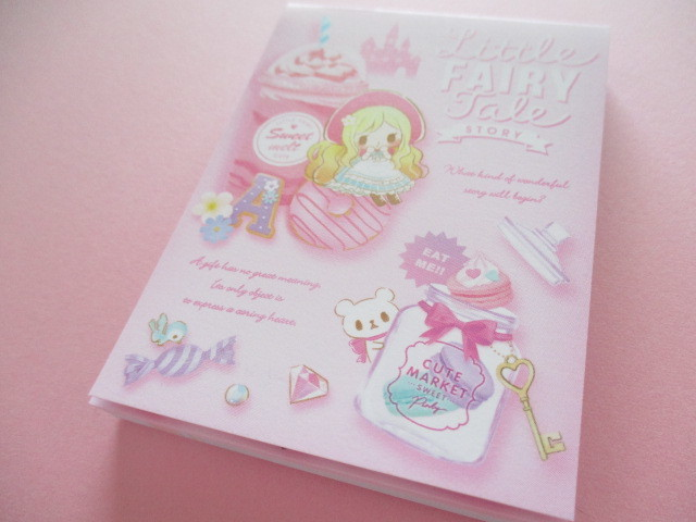 Photo1: Kawaii Cute Mini Memo Pad Little Fairy Tale Q-LiA *Little Red Riding Hood (34841)