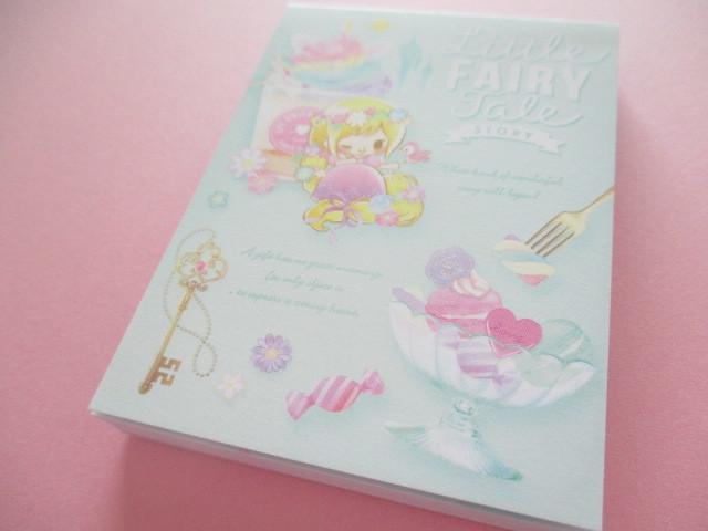 Photo1: Kawaii Cute Mini Memo Pad Little Fairy Tale Q-LiA *Little Rapunzel (34840)
