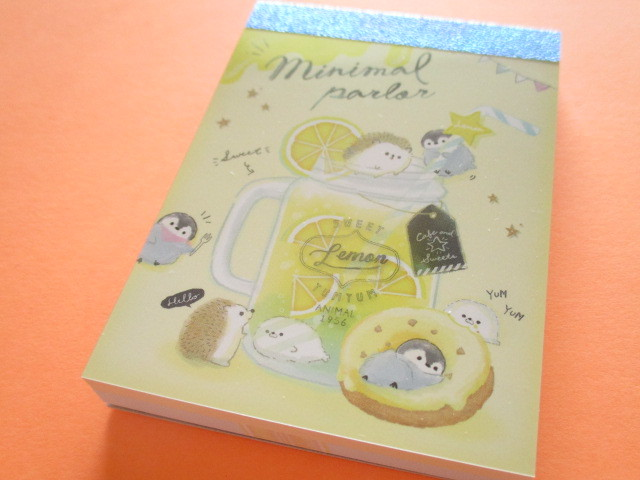 Photo1: Kawaii Cute Mini Memo Pad Q-LiA *Minimal Parlor (30505)