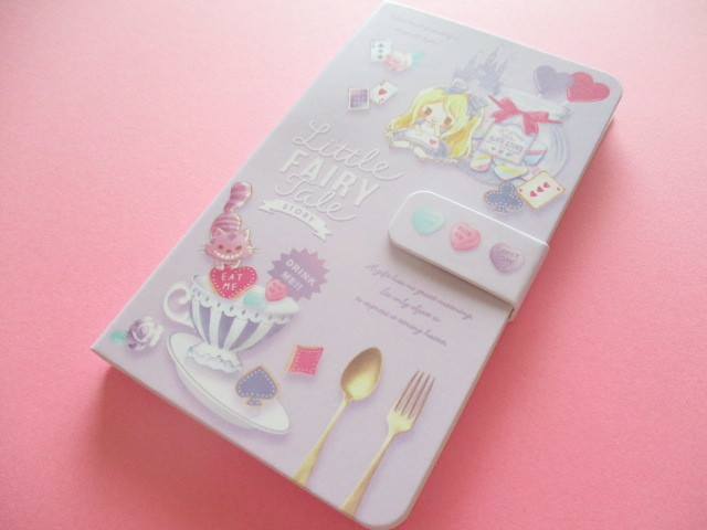 Photo1: Kawaii Cute Smapho Medium Memo Pad Little Fairy Tale Q-LiA *Alice (34844)