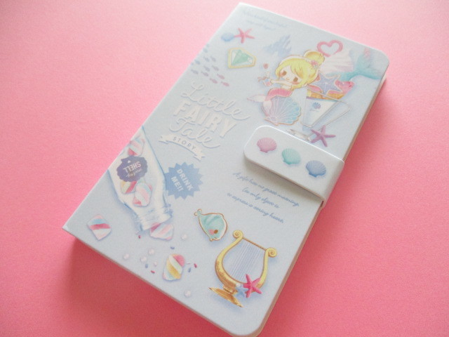 Photo1: Kawaii Cute Smapho Medium Memo Pad Little Fairy Tale Q-LiA *Little Mermaid (34847)