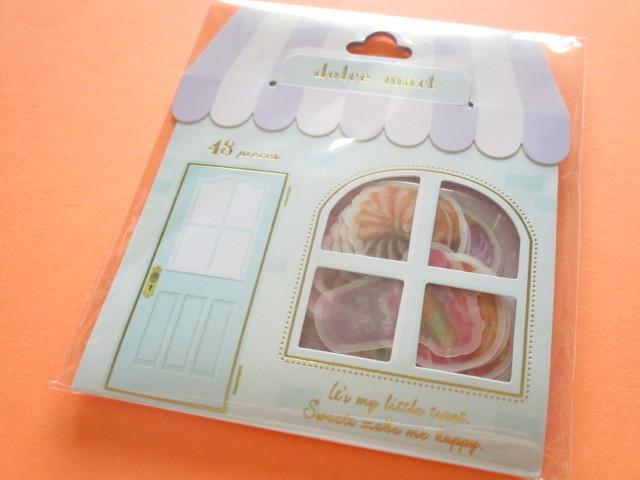 Photo1: Dolce Mart Sticker Flakes Sack Q-LiA *Donut (31219)