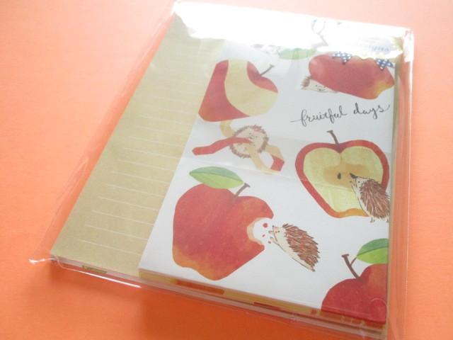 Photo1: Kawaii Cute Letter Set Mind Wave *Fruitful Days (56359)