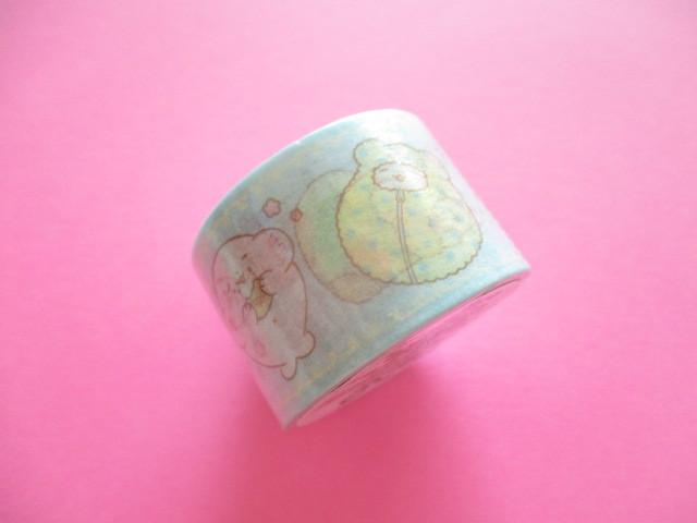 Photo1: Kawaii Cute Masking Tape Sticker Marumofubiyori Sanrio Original *Comic B (78857-1)