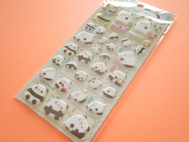 Photo1: Kawaii Cute Funi Funi Pearl Sticker Sheet San-x *Hamipa (SE39401)
