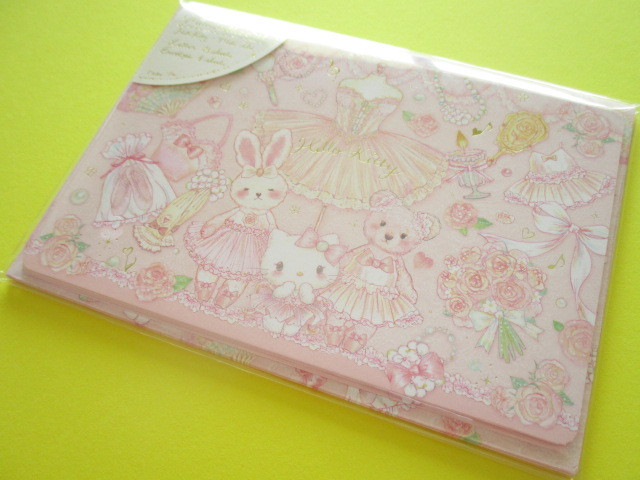 Photo1: Kawaii Cute Mini Letter Set Hello Kitty × たけいみき Miki Takei Sanrio *Sweet Etoile (LS-15351)