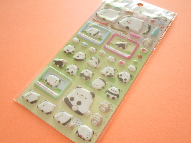 Photo1: Kawaii Cute Funi Funi Pearl Sticker Sheet San-x *Hamipa (SE39501)
