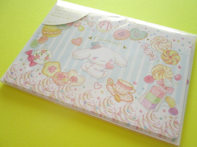 Photo1: Kawaii Cute Mini Letter Set Cinnamoroll× たけいみき Miki Takei Sanrio *Tea Party (LS-15354)