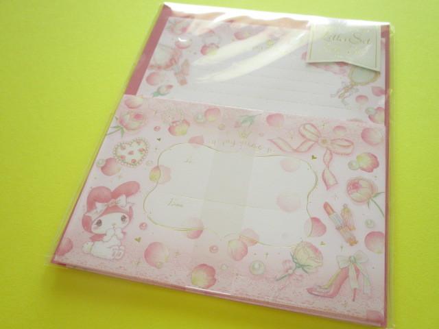 Photo1: Kawaii Cute Letter Set My Melody ×たけいみき Miki Takei Sanrio *Girly Fleur (LS-15349)
