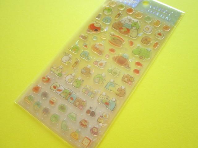 Photo1: Kawaii Cute Colorful Clear Sticker Sheet San-x *Sumikkogurashi  (SE39004)