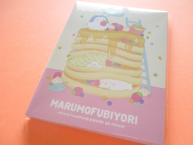 Photo1: Kawaii Cute Large Memo Pad Marumofubiyori Sanrio Original *Comic B (78854-6)
