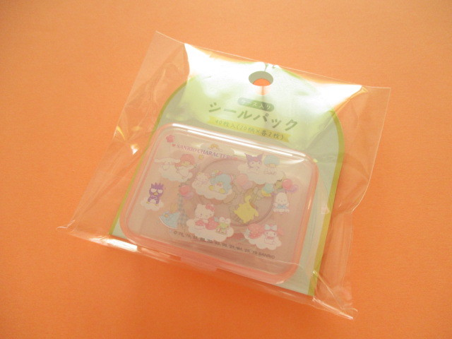 Photo1: Kawaii Cute Sticker Flakes Pack in the Plastic Case Sanrio Original *Sanrio Characters B (03860-1)