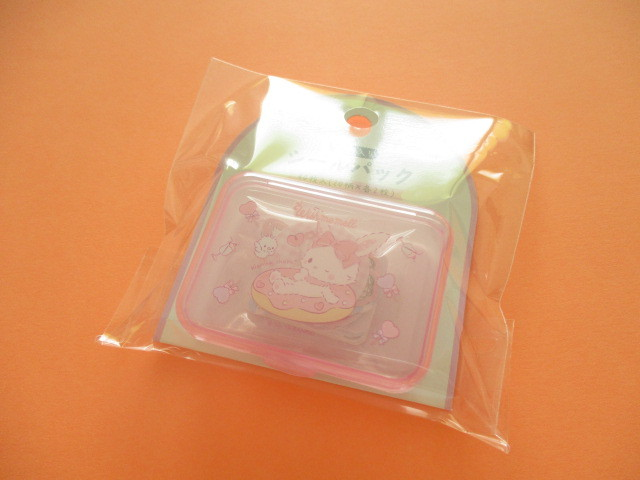 Photo1: Kawaii Cute Sticker Flakes Pack in the Plastic Case Sanrio Original *Wish me mell (03842-3)