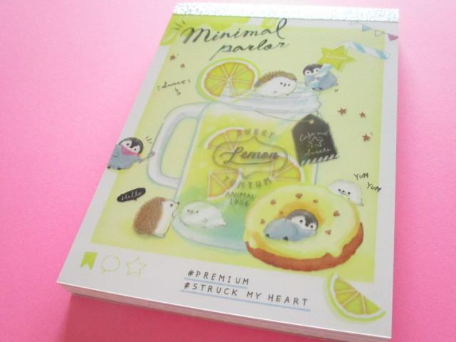 Photo1: Kawaii Cute Large Memo Pad Q-LiA *Minimal Parlor (40017)