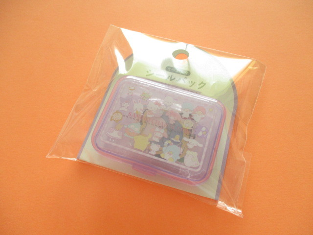 Photo1: Kawaii Cute Sticker Flakes Pack in the Plastic Case Sanrio Original *Sanrio Characters A (03856-3)