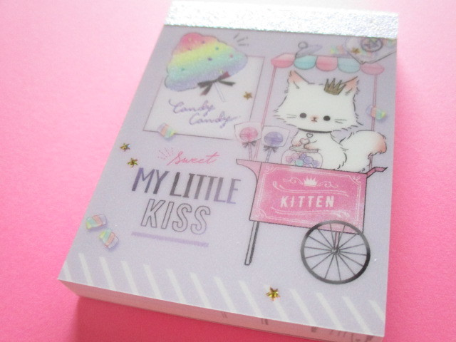 Photo1: Kawaii Cute Mini Memo Pad Q-LiA *My Little Meow (44095)