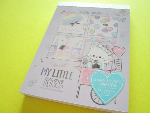 Photo1: Kawaii Cute Large Memo Pad Q-LiA *My Little Meow (44098)