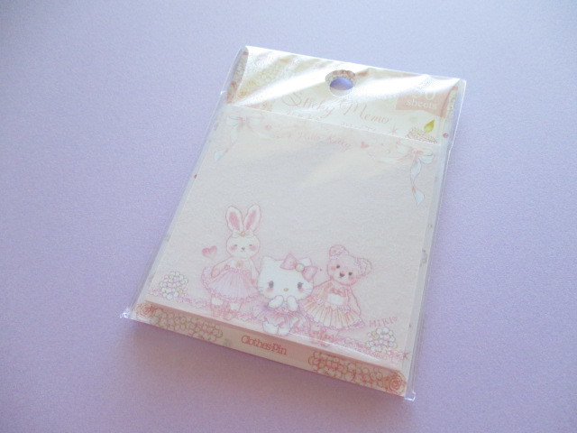 Photo1: Kawaii Cute Sticky Memo Set Hello Kitty × たけいみき Miki Takei Sanrio *Sweet Etoile (FS-15355)