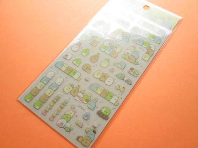 Photo1: Kawaii Cute Character Sticker Sheet San-x *Sumikkogurashi (SE39105)
