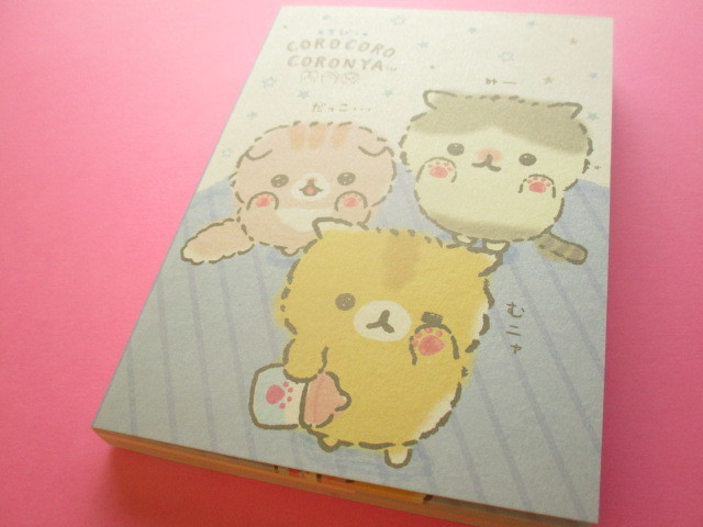 Photo1: Kawaii Cute Large Memo Pad Corocorocoronya San-x *Chibicoronya (MW55601)