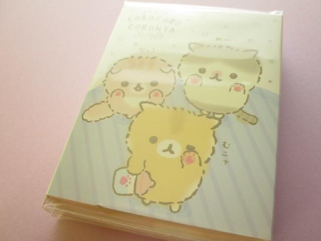 Photo1: Kawaii Cute Patapata Mini Memo Pad Corocorocoronya San-x *Chibicoronya (MW55801)