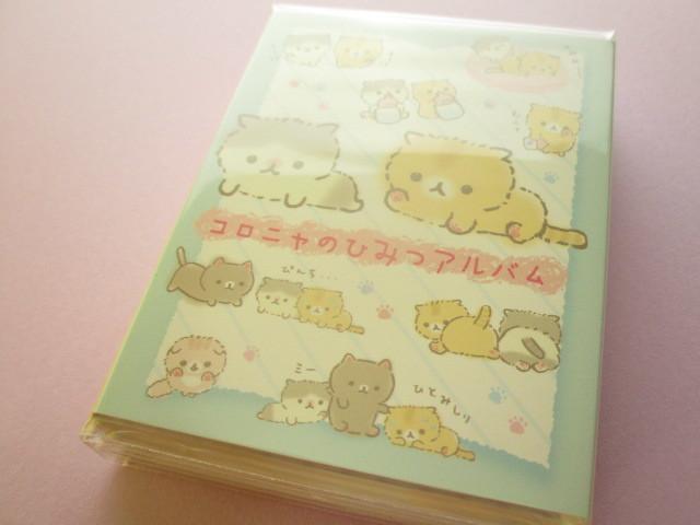 Photo1: Kawaii Cute Patapata Mini Memo Pad Corocorocoronya San-x *Chibicoronya (MW55901)